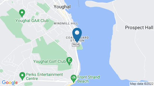 Romantic Apartment - The Youghal Map