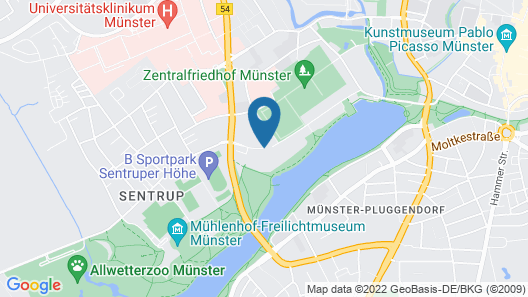 Movenpick Hotel Munster Map