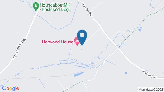 Horwood House Hotel Map