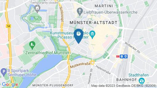 Stadthotel Münster Map