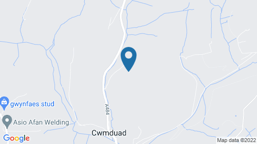 Vacation Home Cwmduad in Carmarthen - 2 Persons, 1 Bedrooms Map