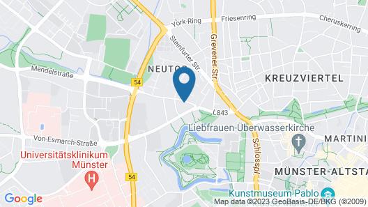 Cityhaus Münster Map