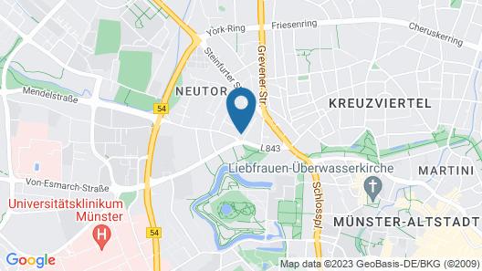 Hotel Am Schlosspark Map