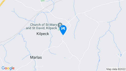 The Kilpeck Inn Map