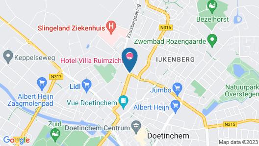 Villa Ruimzicht Map