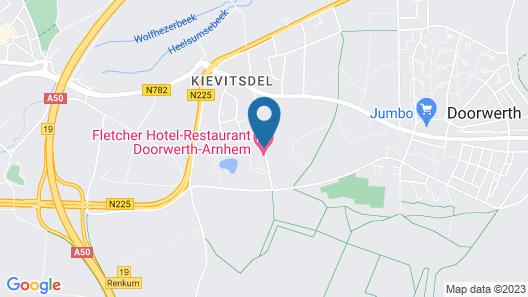 Fletcher Hotel-Restaurant Doorwerth-Arnhem Map
