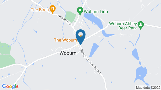 The Woburn Hotel Map