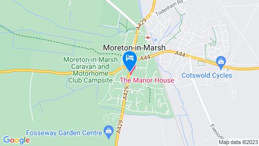The Swan Inn Map