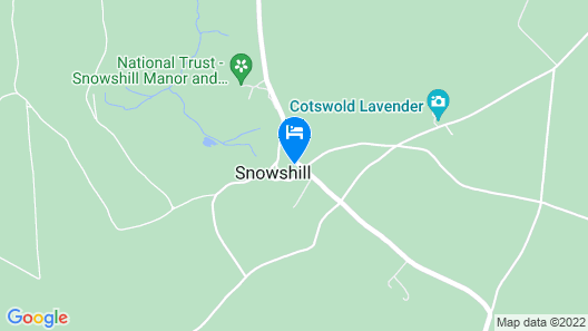 Apple Cottage is Based in Picturesque Snowhill and is not Short of Character Map