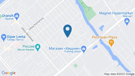Apart otel Map
