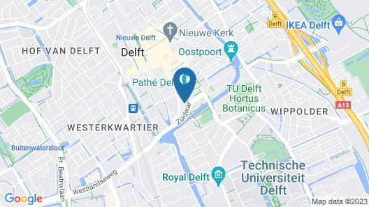 WoW Spacious loft Delft City Centre Map