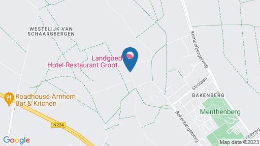 Landgoed Hotel Groot Warnsborn Map