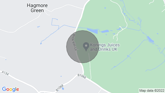 An oasis of calm in the suffolk countryside Map