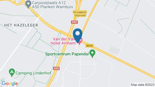 Van der Valk Hotel Arnhem Map