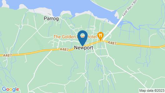 2 Will Phillips Yard, Newport, Pembrokeshire Map