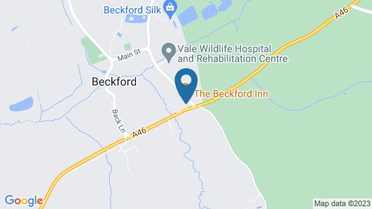 The Beckford Inn Map