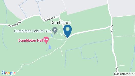 Dumbleton Hall Hotel Map