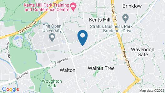Delta Hotels Milton Keynes Map
