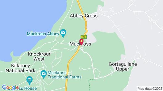 Muckross Park Hotel & Spa Map
