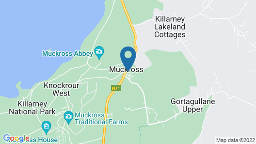 Muckross Park Hotel & Spa Map