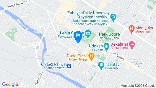 Chita Map