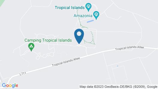 Tropical Islands  Map