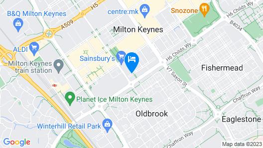 City Apartments Milton Keynes Vizion Map