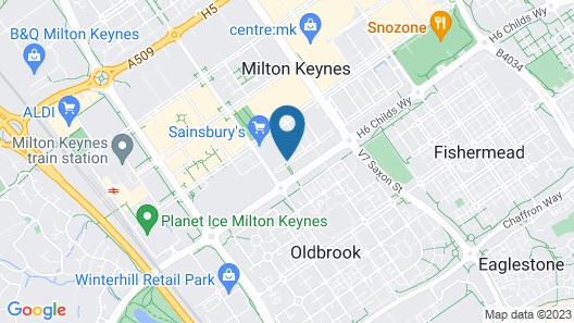 Luxury Apartments Milton Keynes Map