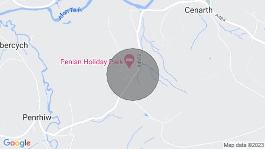 Torwood 2, Cenarth Map