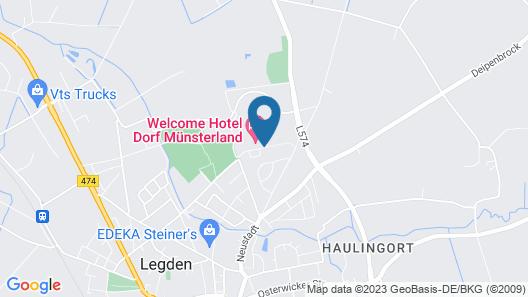 Welcome Hotel Dorf Münsterland Map
