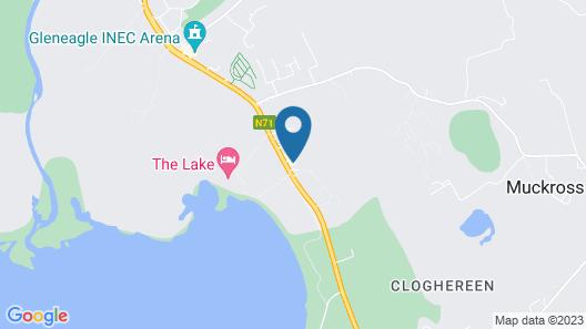 Killarney Oaks Hotel Map