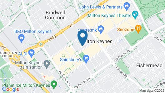 Dazzon Contemporary Apartments Map