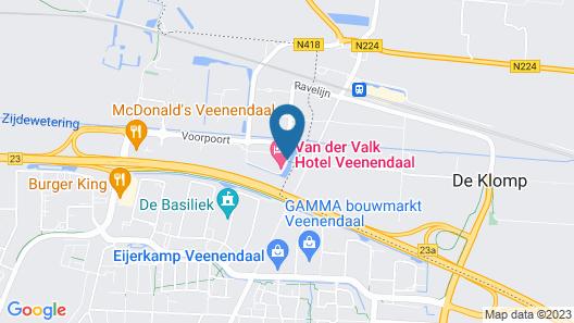 Van der Valk Hotel Veenendaal Map