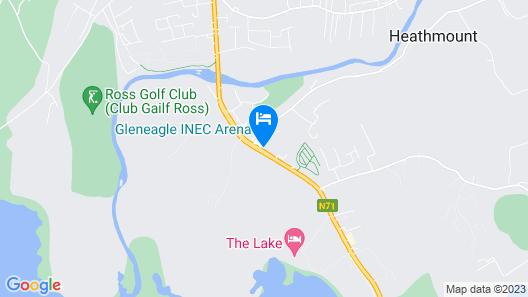 The Gleneagle Hotel Map