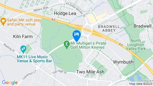Mercure Milton Keynes Map