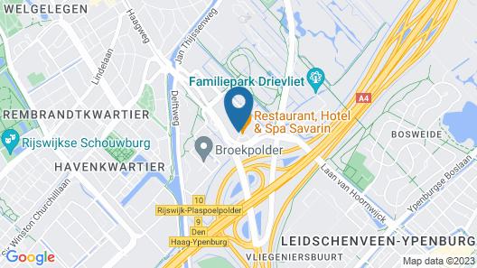 Restaurant, Hotel & Spa Savarin Map