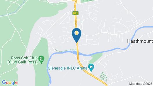 Parkavon Hotel Map