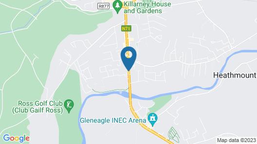 Harmony Inn Glena House Map