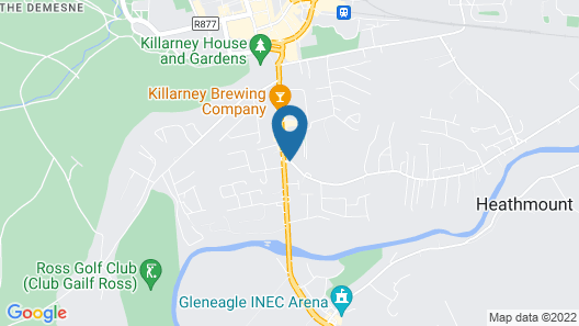 Earls Court House Hotel Map