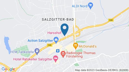 Hotel Harßhof Map