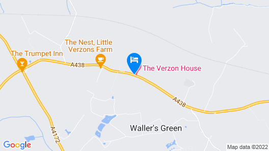 THE VERZON HOTEL Map