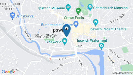 Excellent Location Centre Of Ipswich Map