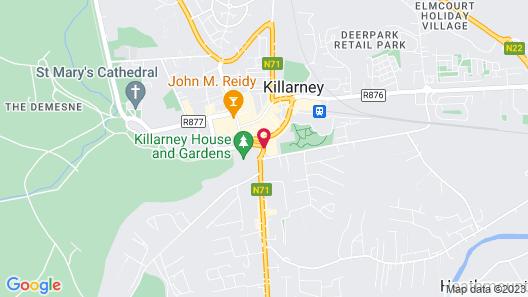 Killarney Avenue Hotel Map