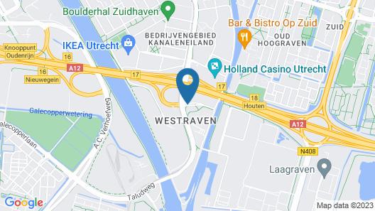 Bastion Hotel Utrecht Map