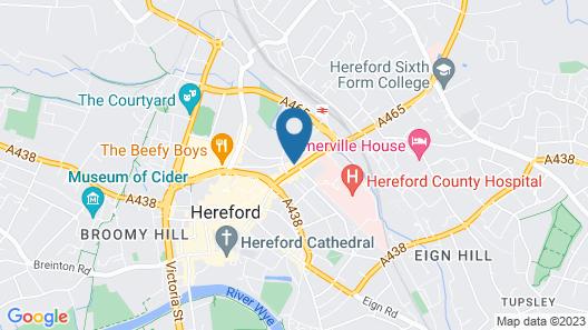 The Merton Hotel Map