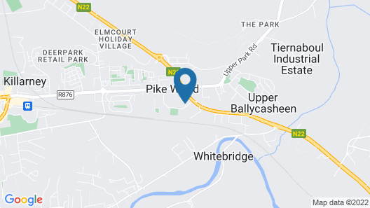 Wild Atlantic Apartments Killarney Map