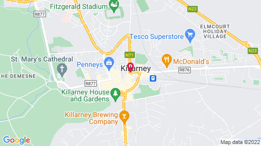McSweeney Arms Hotel Map