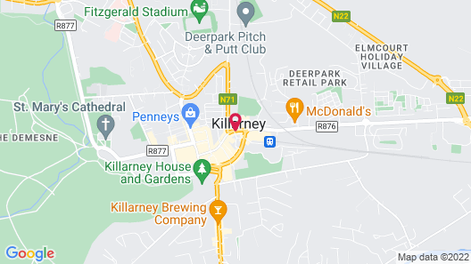 Killarney Royal Hotel Map