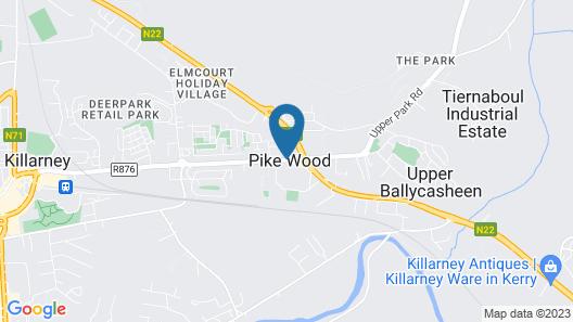 Hotel Killarney Map