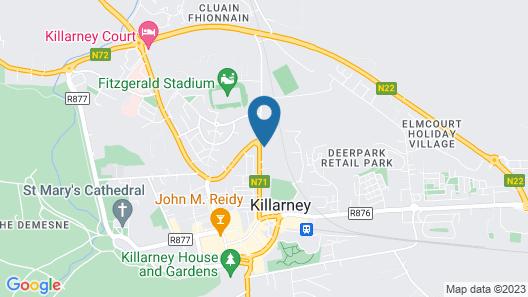 Kingfisher Lodge Map
